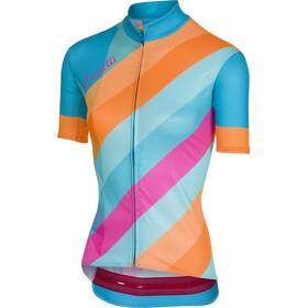 Castelli Prisma FZ Jersey Women multicolor/sky blue